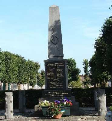 Monument aux morts de haute avesnes for 62144 haute avesnes